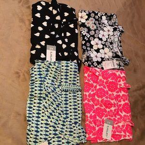 4 summer dresses 👗🖤💗💙